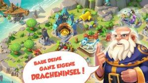Baue deine eigene Dracheninsel in Dragon Mania Legends - (c) Gameloft