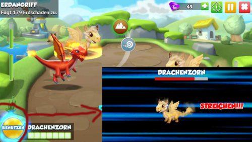 Dragon Mania Legends: Mit dem Drachenzorn kannst du einen Vielfachen Schaden anrichten