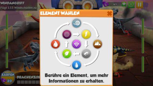 Kenne die Vorteile und Nachteile der Elemente bei Dragon Mania Legends