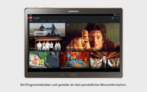 Magine TV Screenshot für Android - Die App gibt es auch für iOS