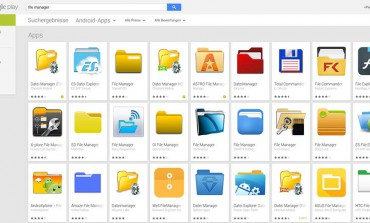 Android: Datei-Manager Apps kostenlos bei Google Play