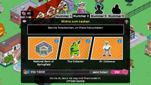 Alle Preise in Teil 2 von Simpsons Springfield Superhelden im Überblick