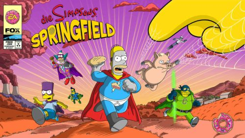 Alles zum Simpsons Springfield Superhelden Event - (c) EA Mobile