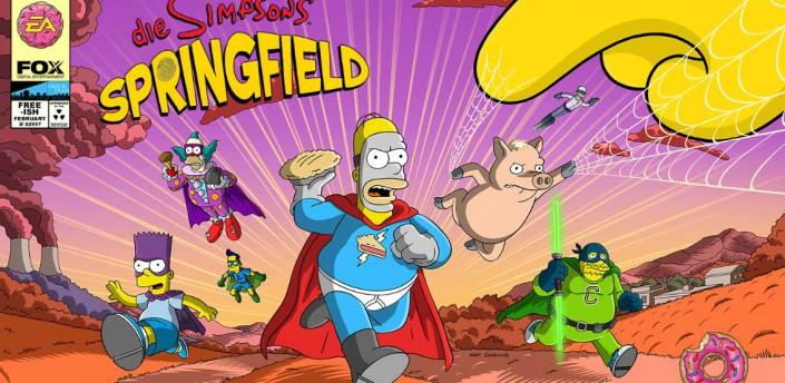 Alles zum Simpsons Springfield Superhelden Event - (c) EA Mobile