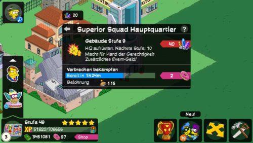 Das Superior Squad Hauptquartier bringt nun Tortenbomben