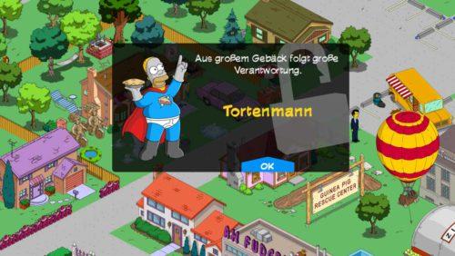 Der Tortenmann wird nach Teil 1 der Storyline Das Ende eines Helden freigeschaltet