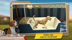 Errichte in DogHotel ein Hundehotel für die Vierbeiner - Screenshot: Tivola