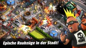 Gang Nations erinnert an Clash of Clans - Screenshot: Playdemic