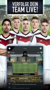 Goal One - DFB Fußball Manager Live Spiel Bildquelle: ProSiebenSat1 Games GmbH
