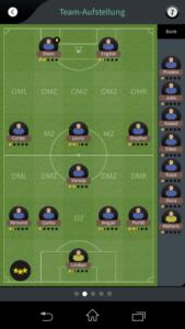 Goal One DFB Fußball Manager - Screenshot starke Spieler