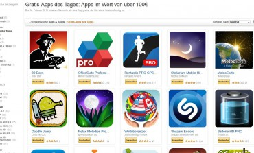 Amazon: Kostenlose Android Apps im Wert von über 100 Euro