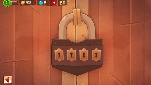 Mache in King of Thieves ein Upgrade der Schlösser, um andere Spieler abzuhalten