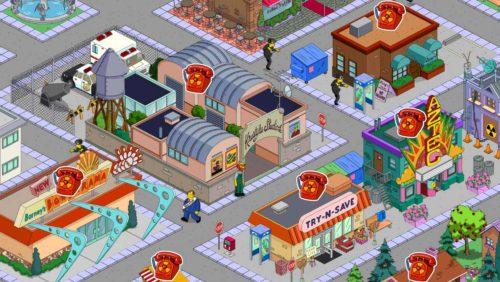 Simpsons Springfield Währung bei Freunden während Superhelden Event sammeln