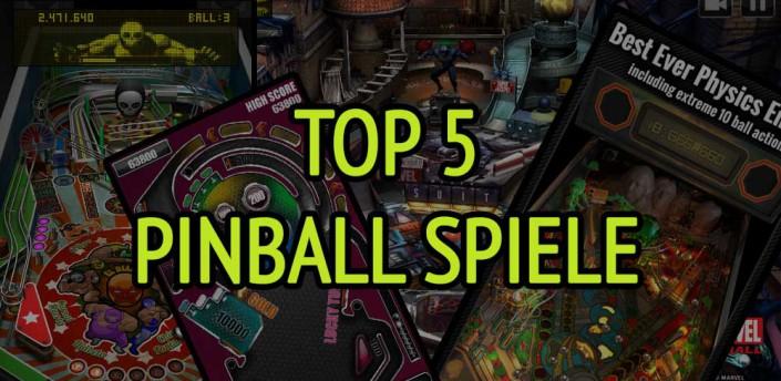 Top 5 Pinball Spiele für Android, iPhone und iPad