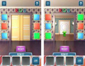 100 Doors Return Level 17 Lösung