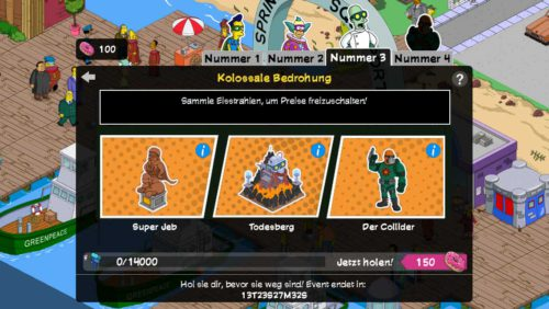 Alle Preise in Teil 3 von Simpsons Springfield Superhelden Event auf einen Blick