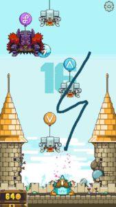 Der Blitz sollte in der App Magic Touch eingesetzt werden, wenn viele Luftballons im Bild zu sehen sind