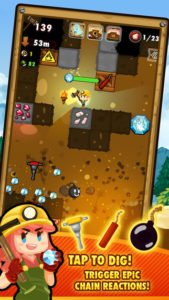 Pocket Mine 2 Screenshot - (c) Roofdog Games