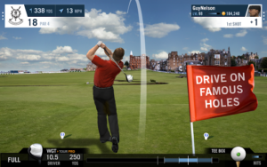 WGT Golf Mobile Screenshot - (c) WGT inc