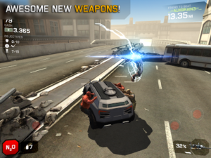 Zombie Highway 2 Screenshot - (c) Auxbrain Inc