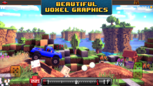 Blocky Roads Screenshot - (c) Crescent Moon Games