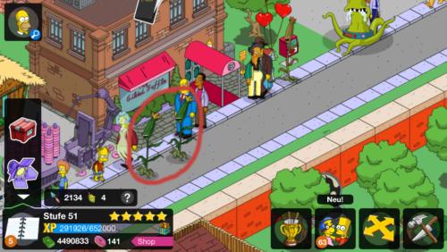 Simpsons Springfield Mutanten in deiner Stadt antippen
