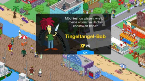 So gelangst du an Tingeltangel-Bob in Simpsons Springfield