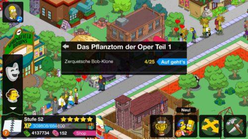 Das Pflanztom der Oper Storyline von Akt 3