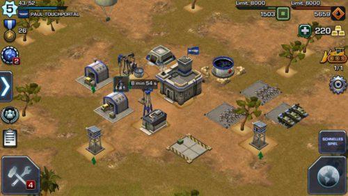 Zum Spieleinstieg in Empires & Allies musst du vor allem deine Lager stetig upgraden und viel kämpfen - (c) Zynga