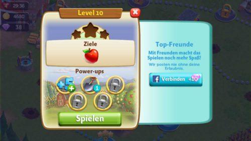 FarmVille Erntetausch Power-ups nur einsetzen, wenn ein Level zu schwer ist - (c) Zynga