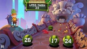 Fruit Ninja Academy Math Master Screenshot - (c) Halfbrick Studios