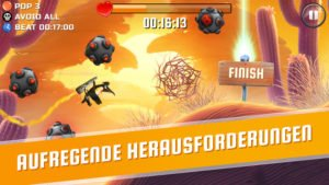 Löse zahlreiche Herausforderungen in der App Oddwings Escape - (c) Small Giant Games