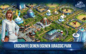 Erschaffe deinen eigenen Dinosaurier Park in der Jurassic Park App - (c) Ludia