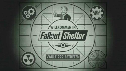 Fallout Shelter Einsteiger Guide mit Tipps und den ersten Schritten