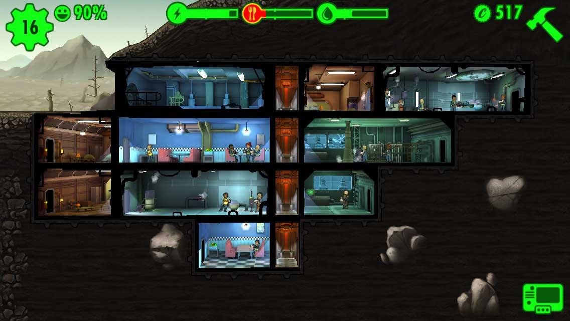 Fallout Shelter Baracken