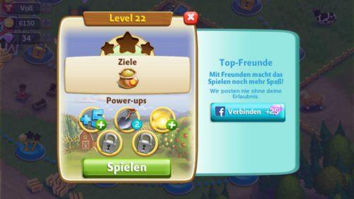 Vor jedem Level in FarmVille Erntetausch kannst du diverse Power-ups kaufen - Wir haben nun Tipps zu diesen aufgelistet - (c) Zynga
