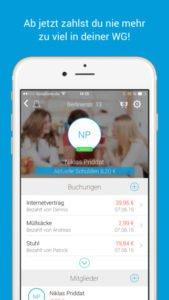 FlatMate App Ausgaben aufteilen leicht gemacht - (c) MateApps GbR