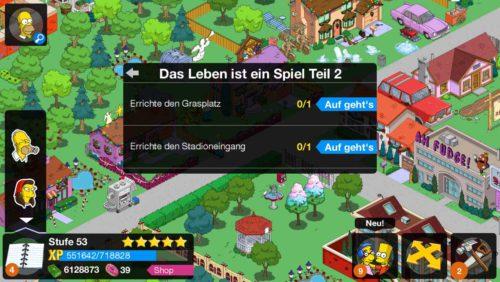 Simpsons Springfield Tipp Ball Storyline Das Leben ist ein Spiel