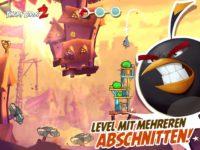 Ein Level besteht bei Angry Birds 2 aus mehreren Abschnitten - Bild: Rovio