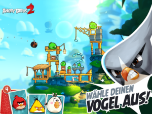 In Angry Birds 2 kannst du nun selber auswählen, welchen Vogel du einsetzen willst - Bild: Rovio