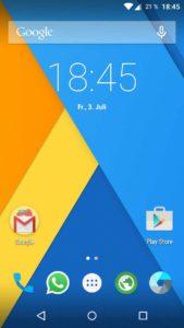 CyanogenMod 12 mit Google Apps wie den Play Store