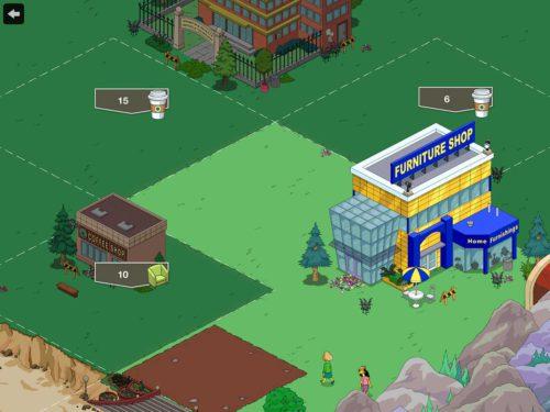 Neue Landerweiterung in den Bergen von Simpsons Springfield
