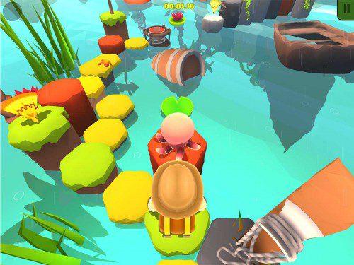 Nono Islands ist ein klassisches Puzzle-Adventure-Spiel mit zahlreichen Gefahren