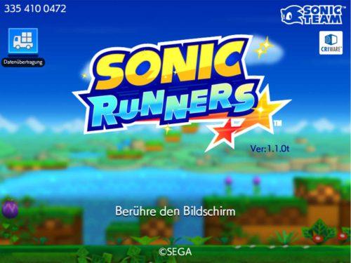 Sonic Runners Tipps und Tricks