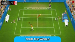 Stick Tennis Tour Screenshot - (c) Stick Sports