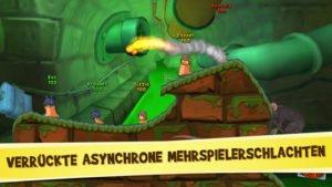 In Worms 3 gibt es auch einen Multiplayer Modus, um gegen seine Freunde und andere Spieler anzutreten - Bild: Team17