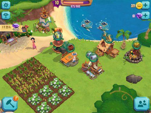 Paradise Bay: Baue Felder ein, produziere und verkaufe Waren