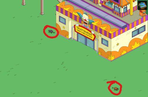 Tippst du Opossums beim Simpsons Springfield Monorail Event an, gibt das 10 Blaupausen
