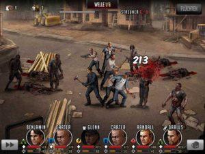 In Walking Dead Road to Survival musst gegen Zombies um Leben und Tod kämpfen