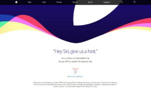 Apple Keynote Live Stream am 9.9.2015